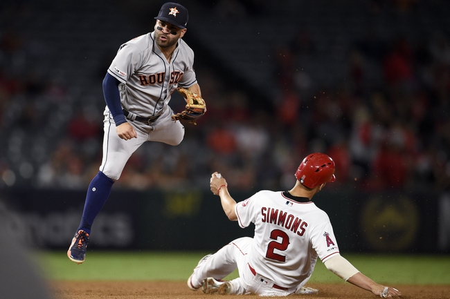 Los Angeles Angels vs. Houston Astros - 9/29/19 MLB Pick, Odds, and Prediction