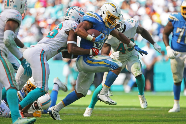 Prediction: Miami Dolphins vs Los Angeles Chargers 11/15/20 NFL Picks, Odds