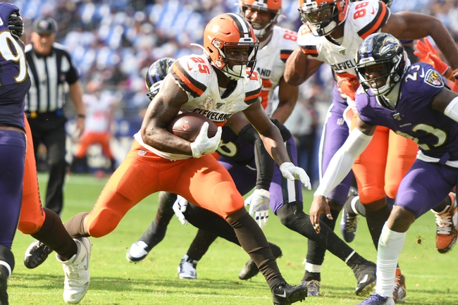 Baltimore Ravens at Cleveland Browns - 12/22/19 NFL Pick, Odds, and Prediction