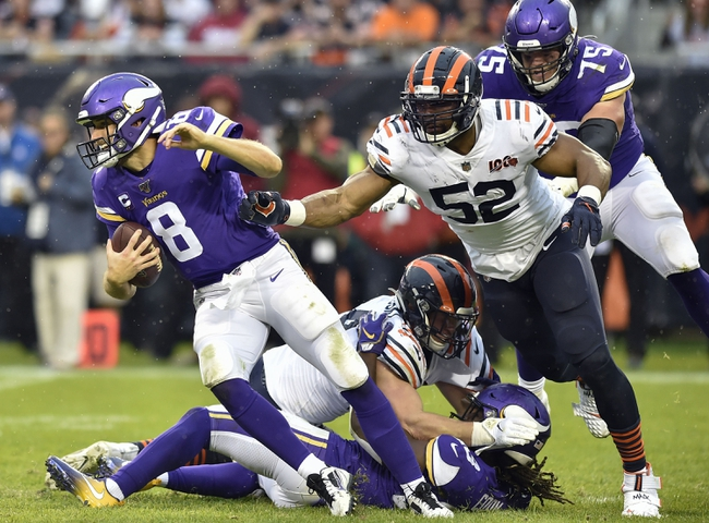 Minnesota Vikings vs. Chicago Bears - 12/29/19 NFL Pick, Odds & Prediction