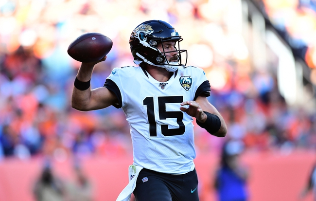 Jacksonville Jaguars at Carolina Panthers - 10/6/19 NFL Pick, Odds, and Prediction