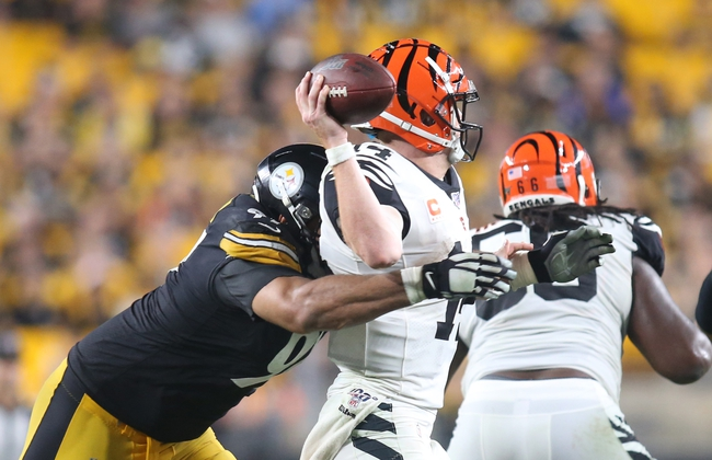 Pittsburgh Steelers at Cincinnati Bengals - 11/24/19 NFL Pick, Odds, and Prediction