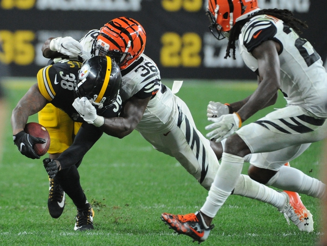 Cincinnati Bengals Vs Pittsburgh Steelers 11 24 19 Nfl