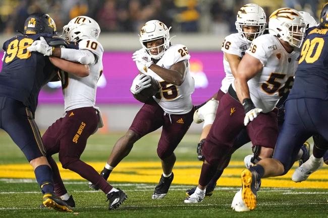 Canceled: Arizona State vs Cal College Football Picks, Odds, Predictions 11/14/20