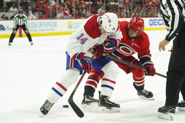 Carolina Hurricanes vs. Montreal Canadiens - 12/31/19 NHL Pick, Odds & Prediction