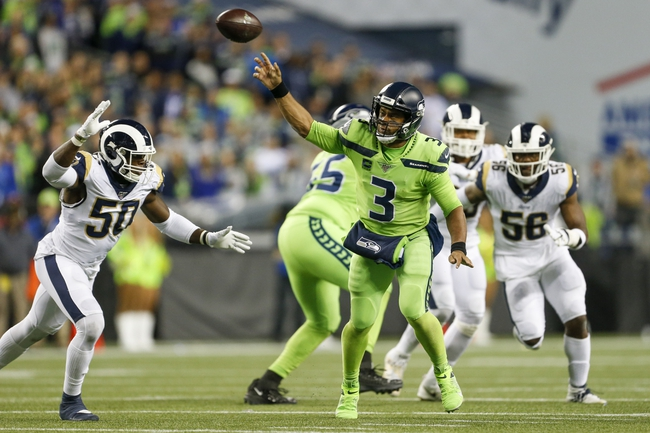 Seattle Seahawks at Los Angeles Rams - 12/8/19 NFL Pick, Odds, and Prediction