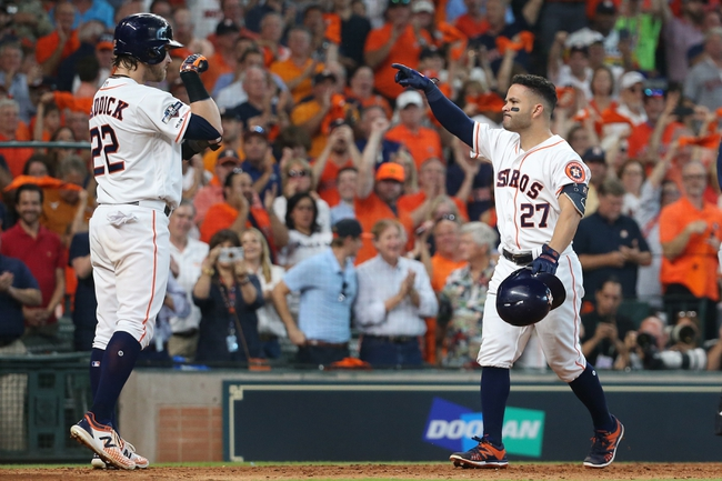 Houston Astros vs. Tampa Bay Rays - 10/5/19 MLB - Playoffs Pick, Odds, and Prediction