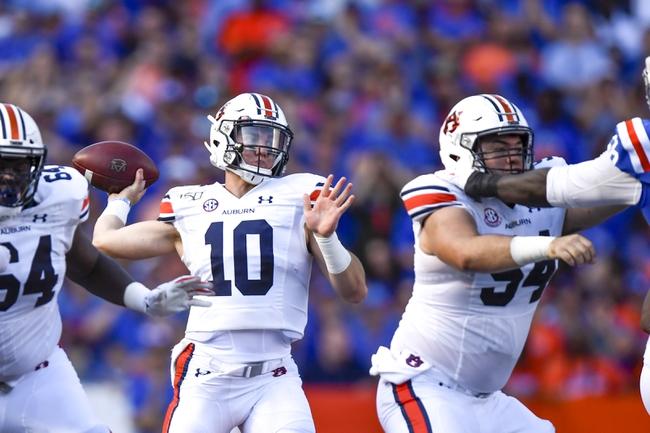 Arkansas vs. Auburn - 10/19/19 College Football Pick, Odds, and Prediction