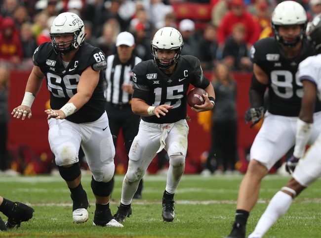 West Virginia vs. Iowa State - 10/12/19 College Football Pick, Odds, and Prediction