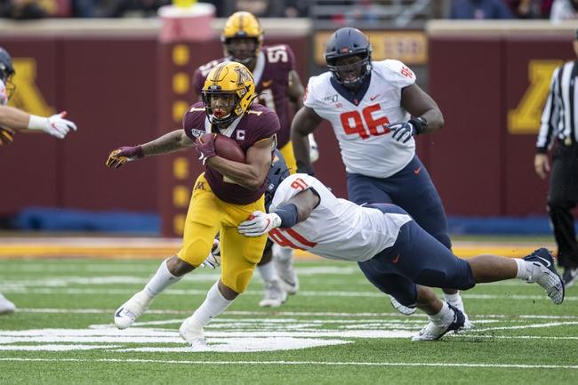 Nebraska at Minnesota - 10/12/19 College Football Pick, Odds, and Prediction