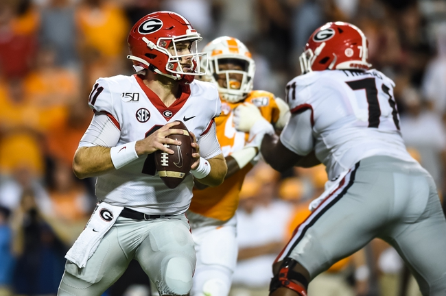 Georgia vs. South Carolina - 10/12/19 College Football Pick, Odds, and Prediction