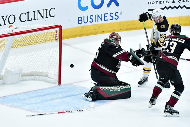 Boston Bruins vs. Arizona Coyotes - 2/8/20 NHL Pick, Odds, and Prediction