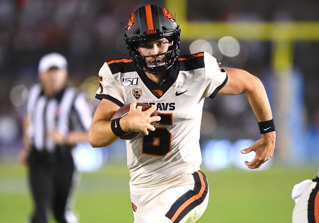 Oregon State vs. Utah - 10/12/19 College Football Pick, Odds, and Prediction