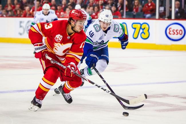 Calgary Flames vs. Vancouver Canucks - 12/29/19 NHL Pick, Odds & Prediction