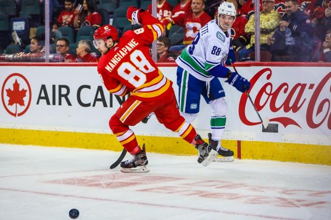 Calgary Flames vs. Vancouver Canucks - 12/29/19 NHL Pick, Odds, and Prediction