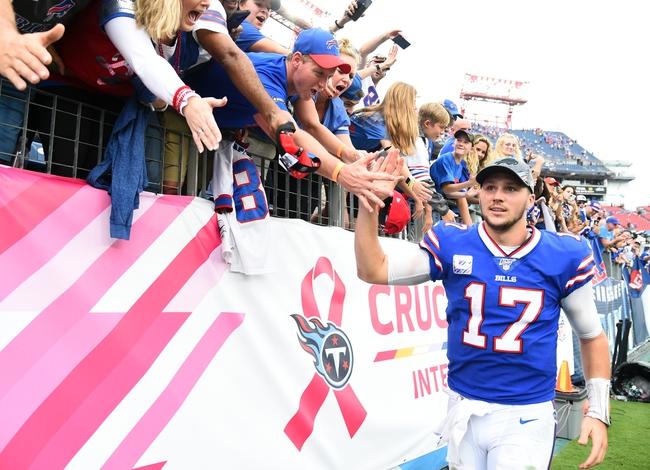 NFL Picks: Buffalo Bills at Tennessee Titans Odds, Predictions 10/13/20