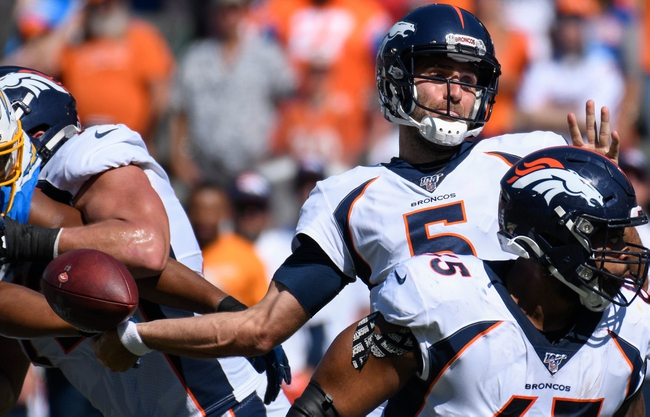 Tennessee Titans at Denver Broncos - 10/13/19 NFL Pick, Odds, and Prediction
