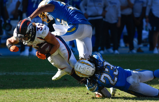 Denver Broncos vs. Los Angeles Chargers - 12/1/19 NFL Pick, Odds, and Prediction
