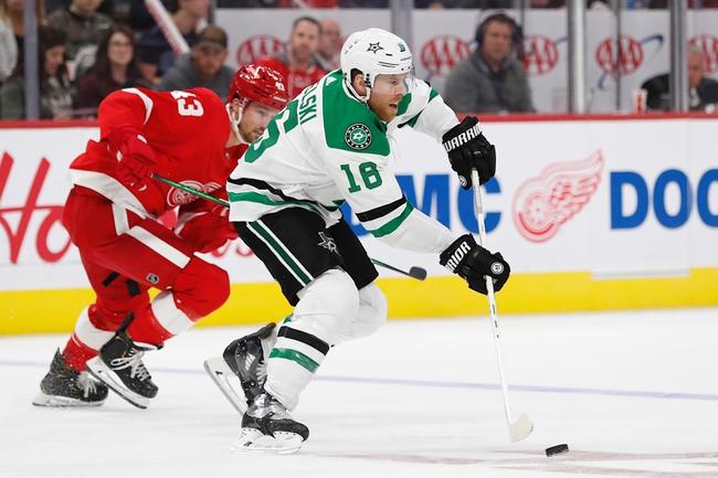Dallas Stars vs. Detroit Red Wings - 1/3/20 NHL Pick, Odds & Prediction