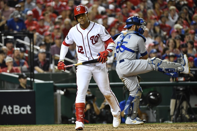 Los Angeles Dodgers at Washington Nationals - 10/7/19 MLB Pick, Odds, and Prediction