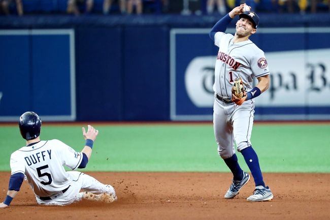 Houston Astros at Tampa Bay Rays - 10/8/19 MLB Pick, Odds, and Prediction