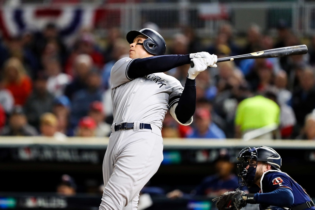 Houston Astros vs. New York Yankees - 10/12/19 MLB - Playoffs Pick, Odds, and Prediction