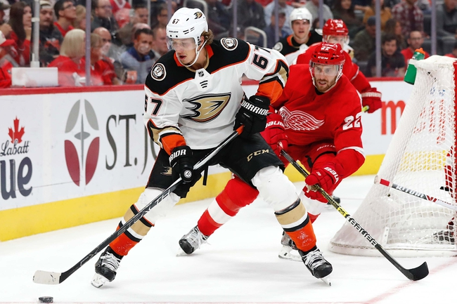 Anaheim Ducks vs. Detroit Red Wings - 11/12/19 NHL Pick, Odds, and Prediction