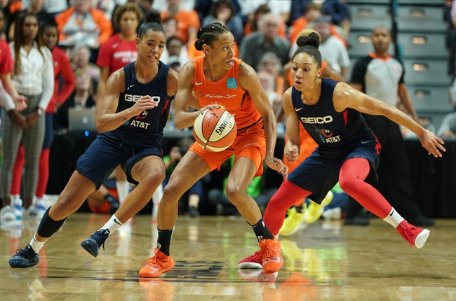 Washington Mystics vs. Connecticut Sun - 8/30/20 WNBA Pick, Odds, and Prediction