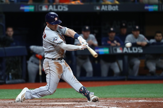 Houston Astros vs. Tampa Bay Rays - 10/10/19 MLB ALDS Game 5 Pick, Odds, and Prediction