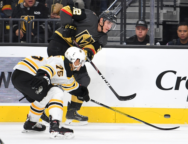 Boston Bruins vs. Vegas Golden Knights - 1/21/20 NHL Pick, Odds & Prediction