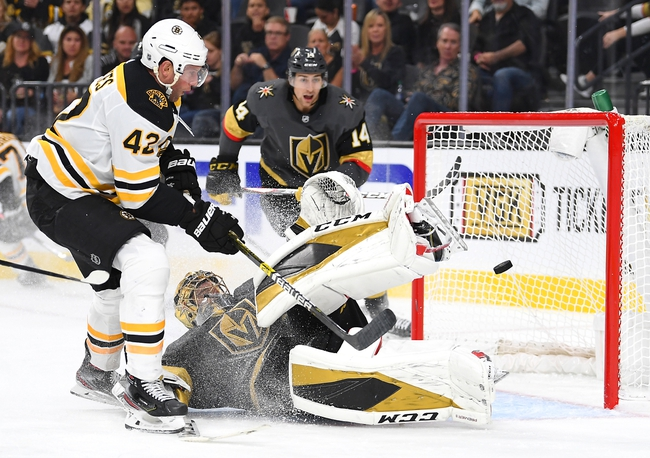 Boston Bruins vs. Vegas Golden Knights - 1/21/20 NHL Pick, Odds, and Prediction