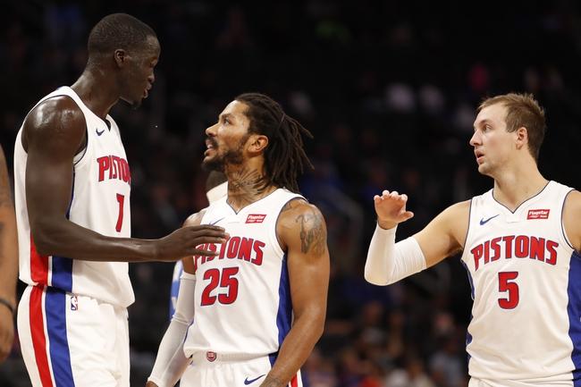 Detroit Pistons vs. Dallas Mavericks - 12/12/19 NBA Pick, Odds, and Prediction
