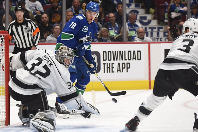 Los Angeles Kings vs. Vancouver Canucks - 10/30/19 NHL Pick, Odds, and Prediction
