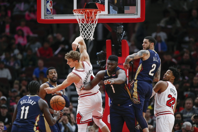 New Orleans Pelicans vs. Chicago Bulls - 1/8/20 NBA Pick, Odds, and Prediction