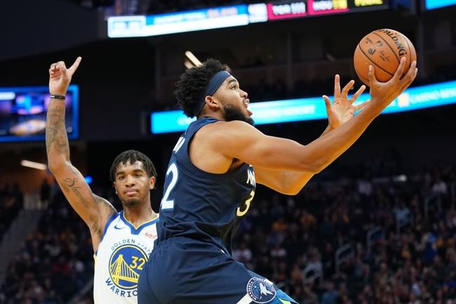 Minnesota Timberwolves vs. Golden State Warriors - 11/8/19 NBA Pick, Odds, and Prediction