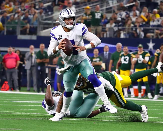 Green Bay Packers vs. Dallas Cowboys - 6/5/20 Madden 20 Sim NFL Pick, Odds, and Prediction