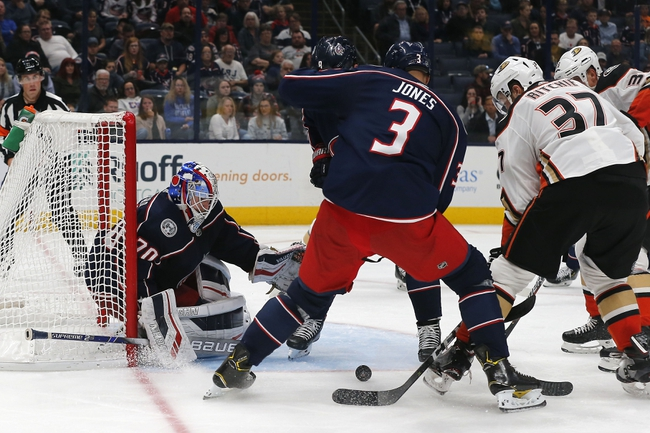 Anaheim Ducks vs. Columbus Blue Jackets - 1/7/20 NHL Pick, Odds & Prediction