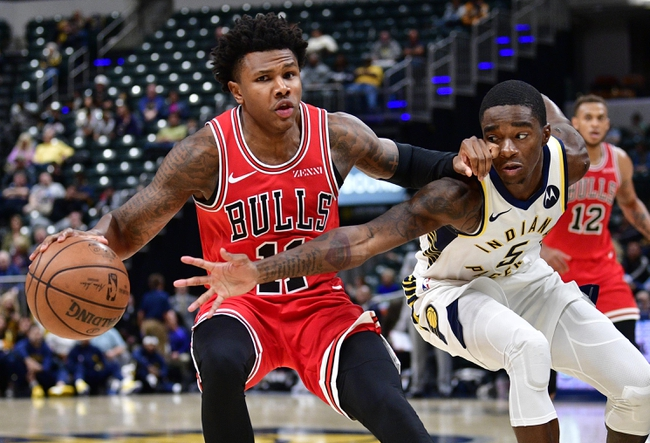 Indiana Pacers vs. Chicago Bulls - 11/3/19 NBA Pick, Odds, and Prediction