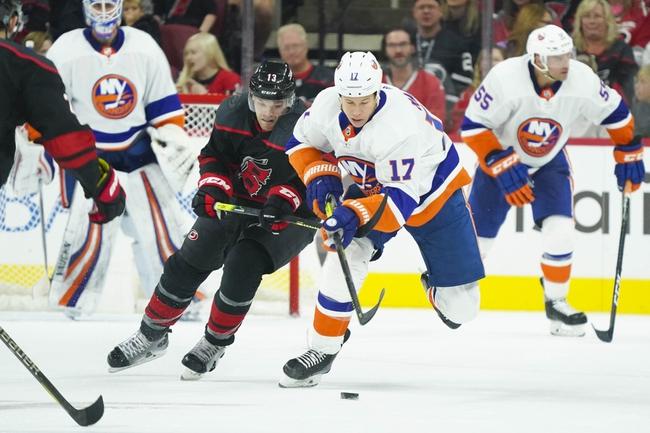 Carolina Hurricanes vs. New York Islanders - 1/19/20 NHL Pick, Odds & Prediction