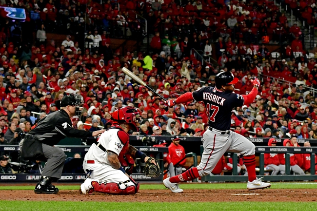 St. Louis Cardinals vs. Washington Nationals NLCS Game 2 - 10/12/19 MLB Pick, Odds, and Prediction