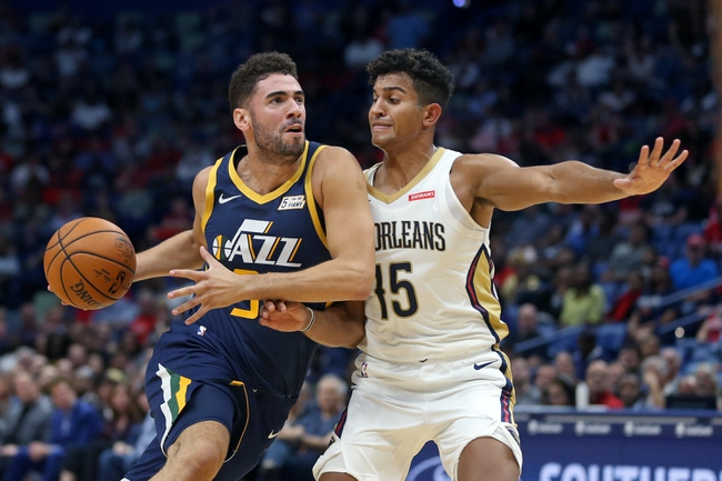 Utah Jazz vs. New Orleans Pelicans - 11/23/19 NBA Pick, Odds, and Prediction
