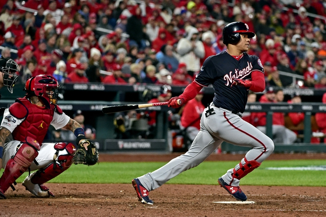 St. Louis Cardinals vs. Washington Nationals - 10/12/19 MLB Pick, Odds, and Prediction