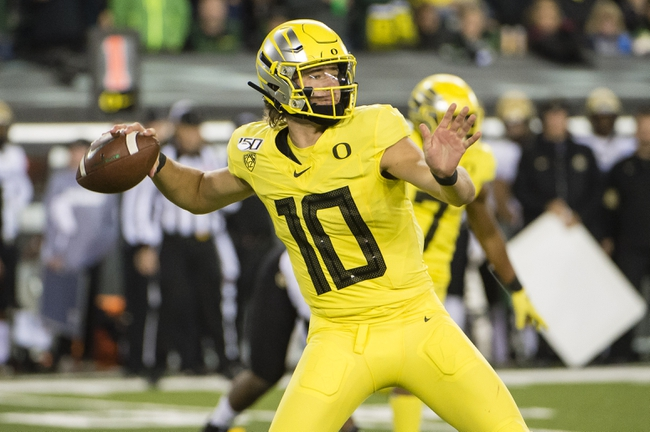 Oregon vs. Washington State - 10/26/19 College Football Pick, Odds, and Prediction