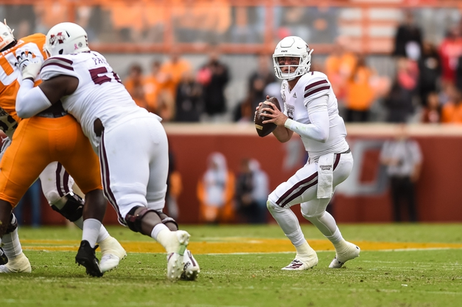 Mississippi State vs. Abilene Christian - 11/23/19 College Football Pick, Odds, and Prediction