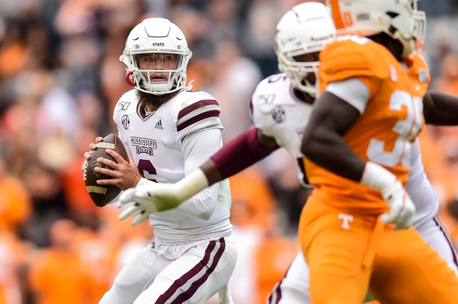Mississippi State vs. LSU - 10/19/19 College Football Pick, Odds, and Prediction