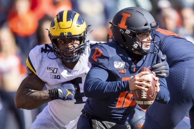 Illinois vs. Wisconsin - 10/19/19 College Football Pick, Odds, and Prediction
