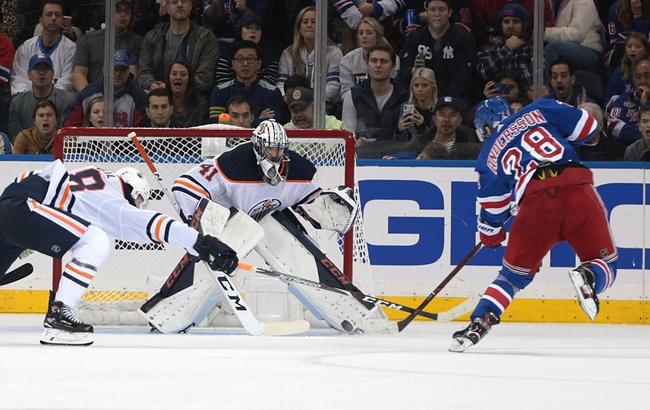 Edmonton Oilers vs. New York Rangers - 12/31/19 NHL Pick, Odds & Prediction