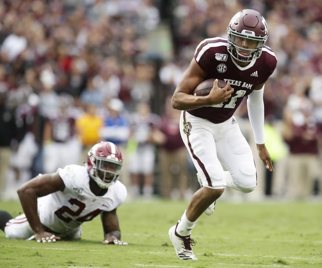 Texas A&M vs. UTSA - 11/2/19 College Football Pick, Odds, and Prediction