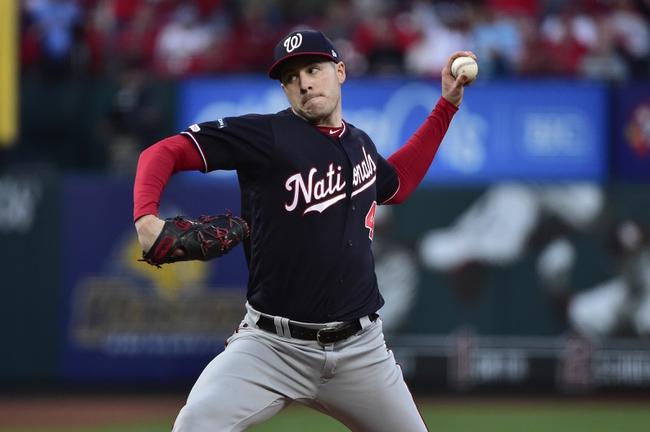 St. Louis Cardinals at Washington Nationals - 10/15/19 MLB Pick, Odds, and Prediction