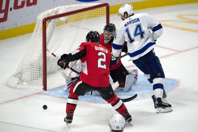 Tampa Bay Lightning vs. Ottawa Senators - 12/17/19 NHL Pick, Odds, and Prediction